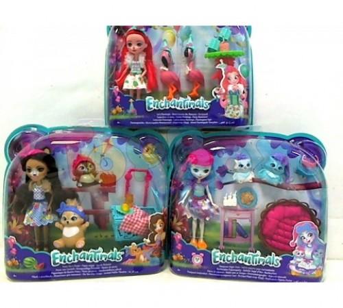 enchantimals fcc62 Набор Кукла с животными