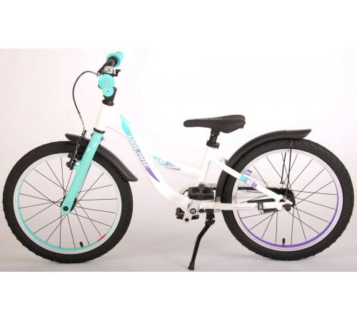 "volare 21876 Велосипед 18 ""glamour prime collection"" белый/мята"