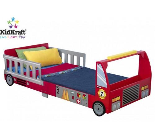 kidkraft 76031 Детская кровать firetruck