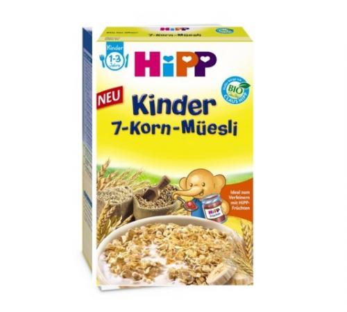 Детское питание в Молдове hipp 3533 Био Мюсли 7 злаков  200г