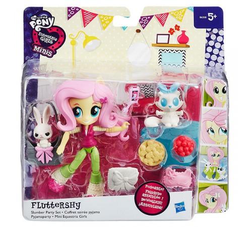my little pony b4909 equestria girls mini doll cu accesorii, în assort.
