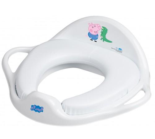 "tega baby Сиденье для унитаза мягкое ""Свинка Пеппа"" fa-020-103-n мальчик"