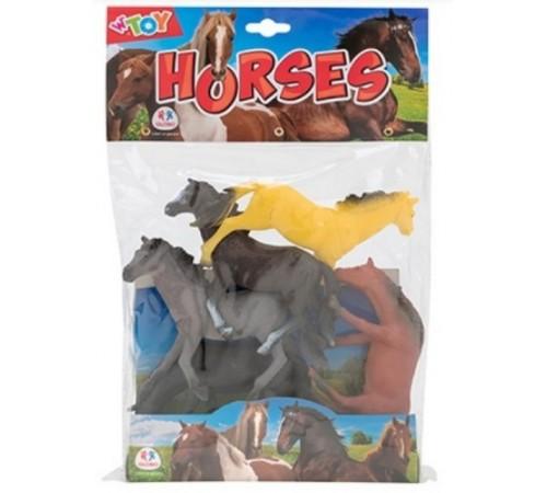 """globo 37477 Игровой набор w'toy """"Лошадки"""""""