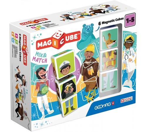 """Детскиймагазин в Кишиневе в Молдове geomag 123 Магнитные кубики """"magicube mix & match"""" (6 шт.)"""