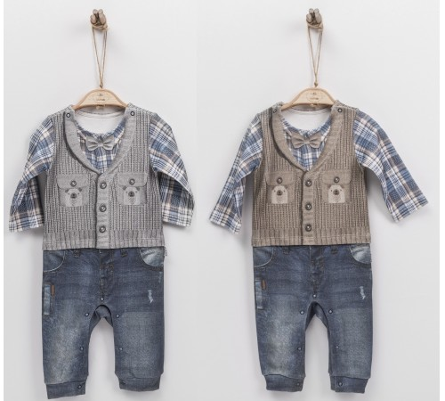 Одежда для малышей в Молдове  kitikate s31560 Комбинезон 3d w в асс.