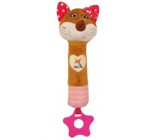 Jucării pentru Copii - Magazin Online de Jucării ieftine in Chisinau Baby-Boom in Moldova baby mix  stk-17510p zornaitoare  din plus vulpe roz