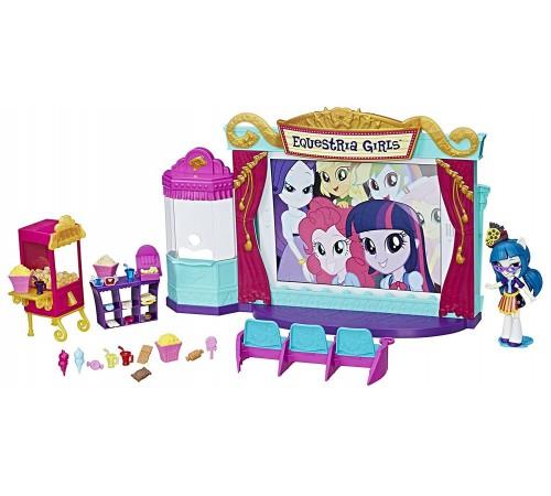 """Детскиймагазин в Кишиневе в Молдове my little pony c0409 equestria girls Игровой Набор Мини-Кукол  """"Кинотеатр"""""""