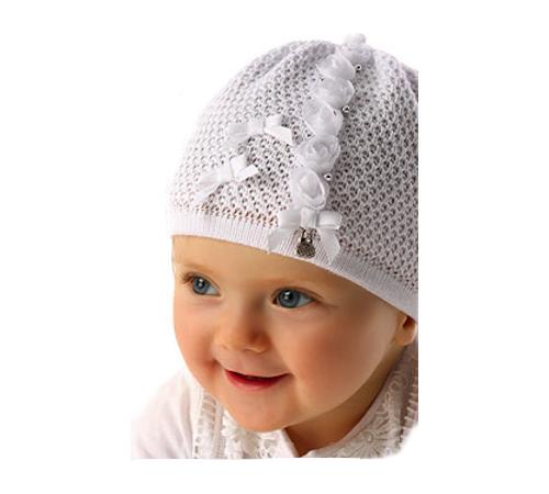 Одежда для малышей в Молдове marika mwj-2297 Шапочка azurowa 11