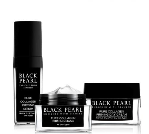 """black pearl Набор для лица """"Чистый коллаген"""" 761460"""