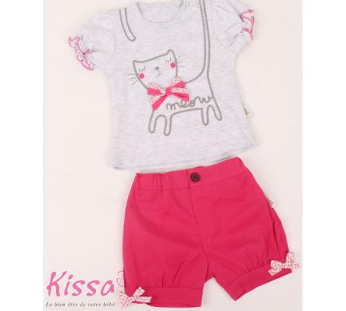 """Одежда для малышей в Молдове twetoon baby 217299 Костюм """"meaw"""" в асс. (9-24 мес.)"""