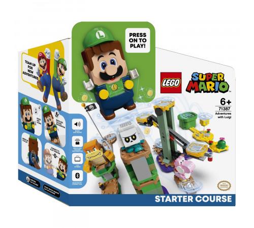 """lego super mario 71387 Конструктор """"Стартовый набор Приключения вместе с Луиджи"""" (280 дет.)"""
