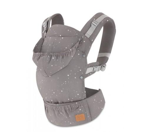 kinderkraft Рюкзак-переноска huggy серый