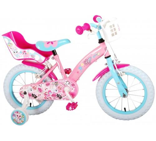 """volare Велосипед """"ojo 14"""" 91429 розовый"""