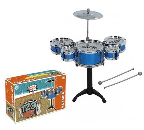 "Jucării pentru Copii - Magazin Online de Jucării ieftine in Chisinau Baby-Boom in Moldova color baby 43852 set de tambur ""123 music"""