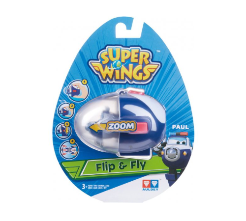 "super wings eu710665 Игровой набор ""flip n fly - paul"""