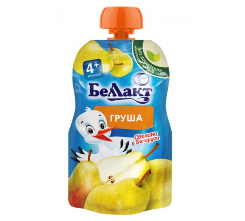 Детское питание в Молдове Беллакт Пюре из груш 90 гр. (4 м. +)