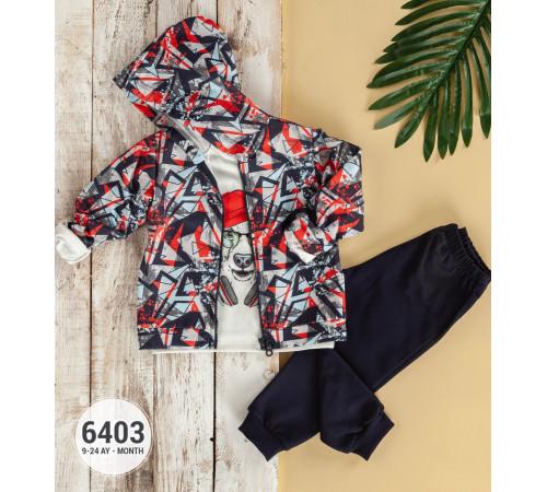 Одежда для малышей в Молдове babyrose 6403 Комплект из 3 единиц (9-12-18-24 мес.)