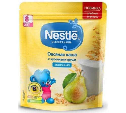 nestle Каша молочная овсяная с кусочками груши 220 гр. (8 м+)