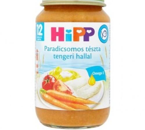 hipp 6823 paste cu legume și pește în sos de rosii 220 rg.(12m+)