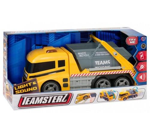 teamsterz 1416394 Машина самосвал со светом и звуком