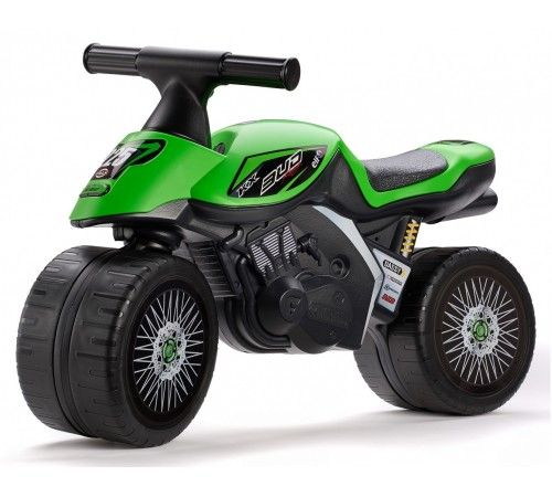 "falk 402kx run bike ""kawasaki bug racing"" verde"