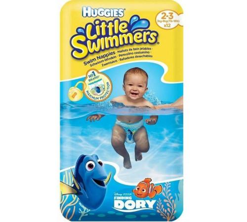 huggies little swimmers chiloței de înot 2-3  (3-8 kg.) 12 buc.