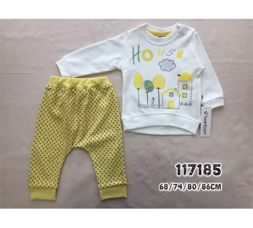 Одежда для малышей в Молдове twetoon baby 117185 Комплект 2 ед. в ассортименте