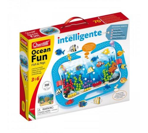 "quercetti 969 Мозаика ocean fun ""Подводный мир"""