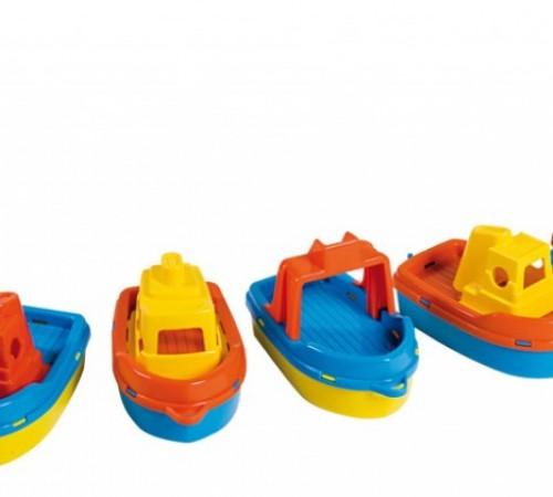 "Детскиймагазин в Кишиневе в Молдове androni giocattoli 4025-0002 Игрушка для ванной ""Лодка"" 8шт."