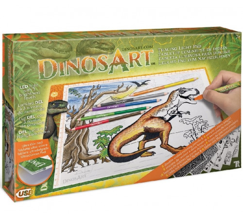 """Jucării pentru Copii - Magazin Online de Jucării ieftine in Chisinau Baby-Boom in Moldova dinosart 15151 set pentru creativitate """"tracing light pad"""""""