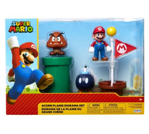 """super mario m85987 set de joc """"acorn plains diorama"""""""