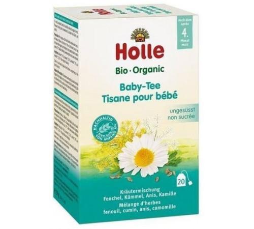 holle bio organic ceai de plante pentru copii (4 m +) 20 plicuri