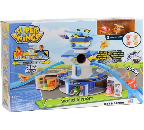 "super wings eu710830 set de joc ""aeroport"""