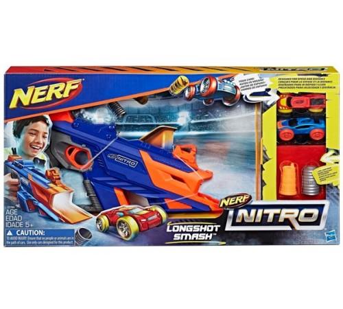 nerf c0784 Игровой набор nitro longshot smash