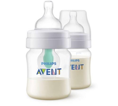 Детское питание в Молдове avent scf810/24 Бутылочка anti-colic с клапаном airfree 125 мл. (0 м. +) 2 шт.