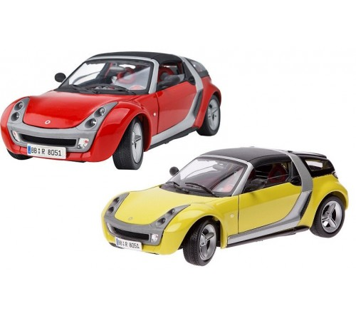 bburago 18-12052 Машина smart roadster coupe 1/18