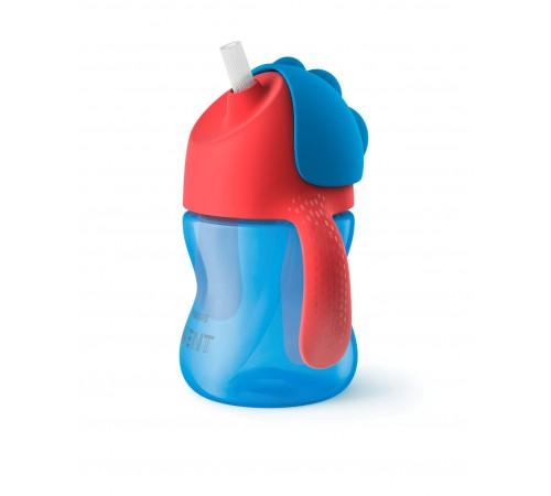 Детское питание в Молдове avent scf796/01 Чашка с трубочкой, 200 мл 1 шт. 9 мес.
