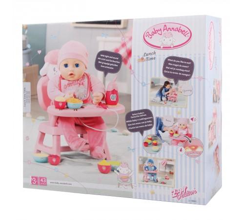 Детскиймагазин в Кишиневе в Молдове zapf creation 701911 Интерактивный стульчик для кормления baby annabell