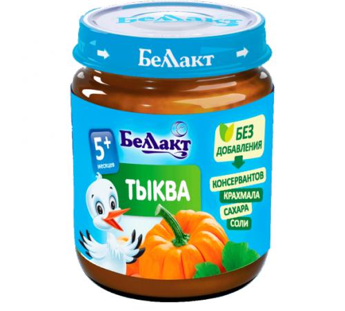 Детское питание в Молдове Беллакт Пюре из тыквы 100 гр. (5 м. +)