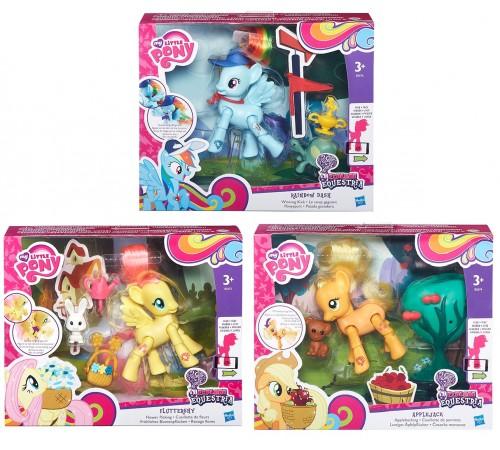 """my little pony b3602 Игровой набор """"Пони с артикуляцией"""" в асс."""