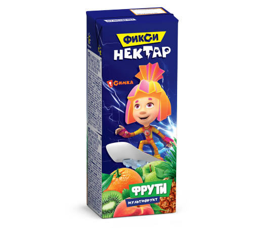 Фрути nectar multifruct 0,2l   (fixiki)