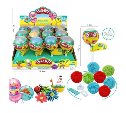 "op РЕ04.141 set de plastilina ""play-toy"""