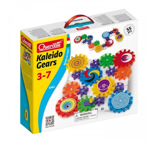 Детскиймагазин в Кишиневе в Молдове quercetti 2341 Конструктор georello kaleido gears