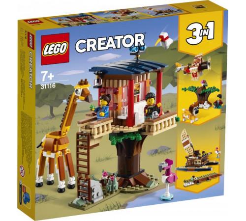 """Jucării pentru Copii - Magazin Online de Jucării ieftine in Chisinau Baby-Boom in Moldova lego creator 31116 constructor """"casă în copac pentru safari"""" (397 el.)"""