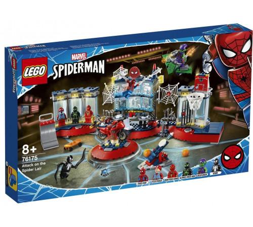"Детскиймагазин в Кишиневе в Молдове lego super heroes 76175  Конструктор ""Нападение на мастерскую паука"" (466 дет.)"
