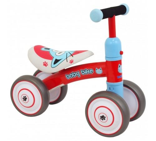 baby mix ur-et-z7 red run bike cu patru roți