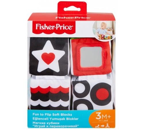 """fisher-price gfc37 Развивающие мягкие кубики """"Изучай и играй"""""""