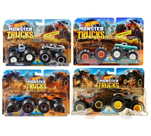 "Детскиймагазин в Кишиневе в Молдове hot wheels fyj64 Набор из 2 машинок серии ""monster trucks"" в асс."
