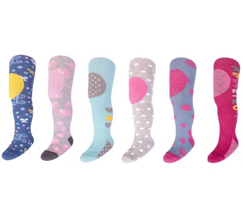 yoclub ra-25 ciorapi pentru fete (m. 80-86) în sort.