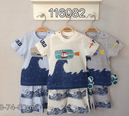 Одежда для малышей в Молдове twetoon baby 116082 Комплект летний (шорты и футболка)
